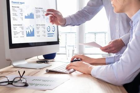 Blogue sur rapports financiers