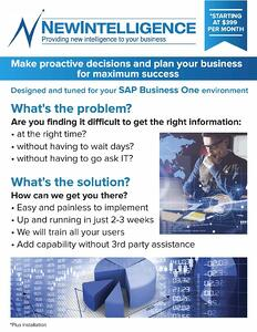 SAP B1 QuickStart Fact Sheet